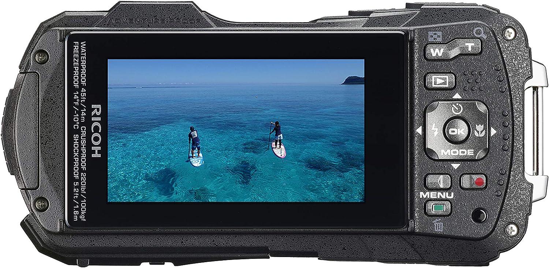 Pentax Ricoh Wg 60 Rot Wasserdichte Kamera Kamera