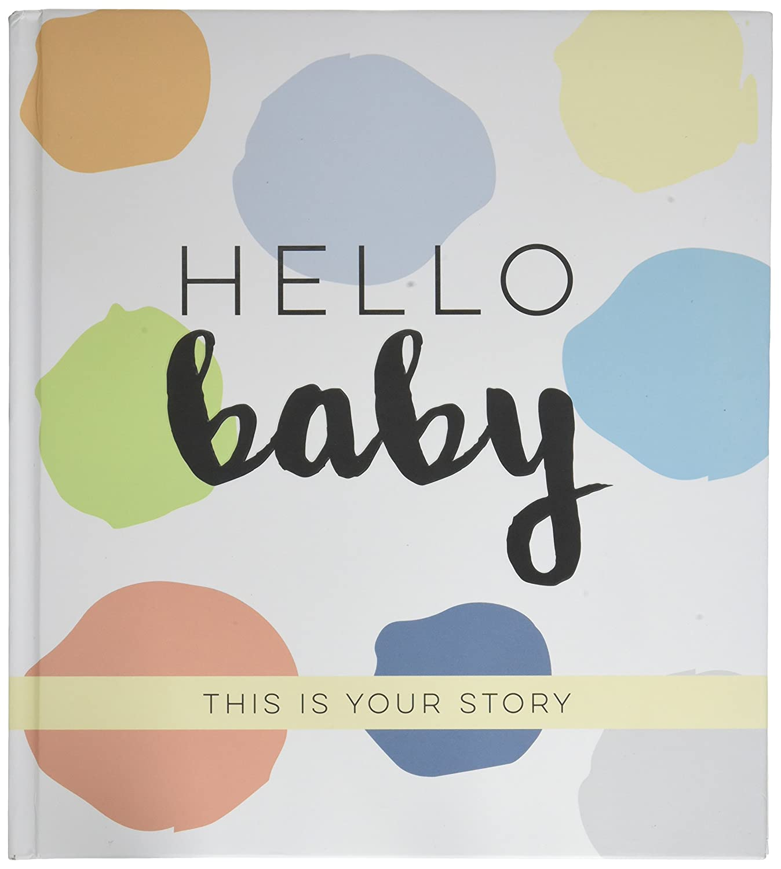 azzurro//verde//grigio//blu Sticky Bellies Modern Baby memory Book