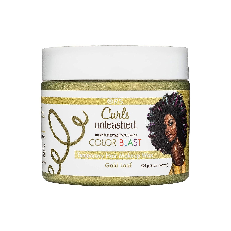 Color Blast Temporary Hair Makeup Wax - Gold Leaf