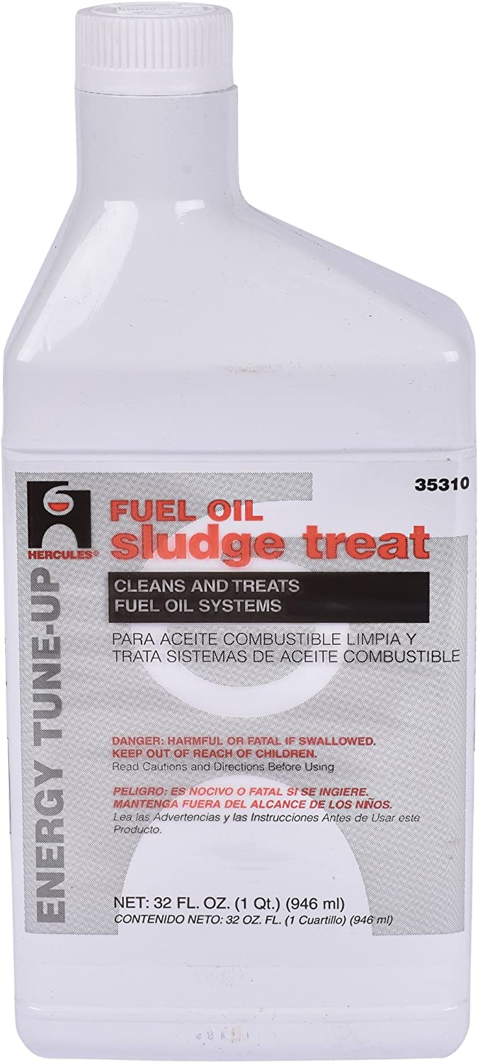 Oatey 35310 Hercules Fuel Oil Sludge Treat, 32 oz, White