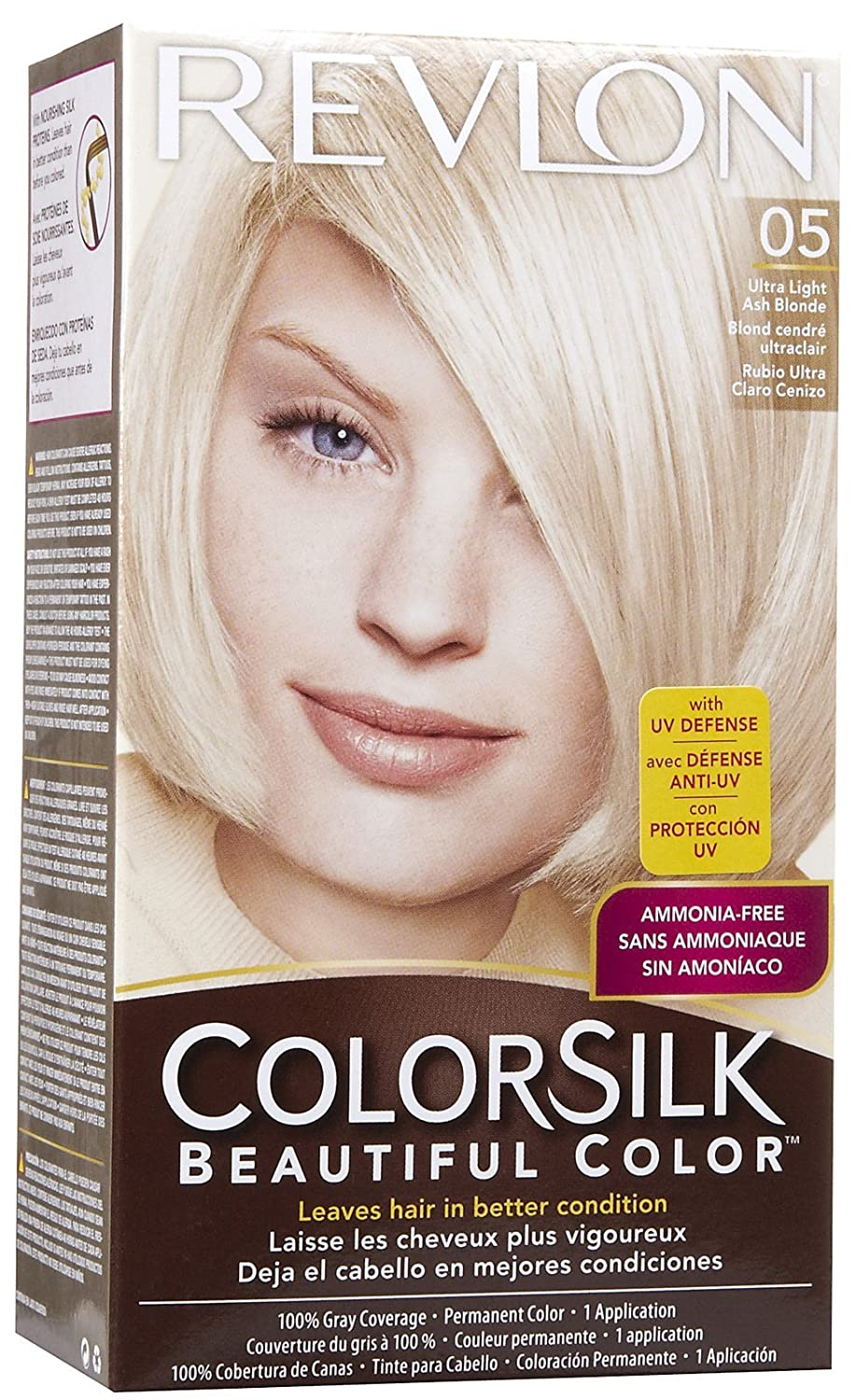Amazon Revlon Colorsilk Beautiful Color 05 Ultra Light Ash