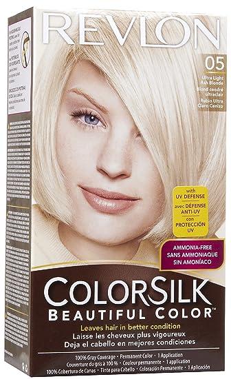 Amazon.com : Revlon ColorSilk Beautiful Color, [05] Ultra Light ...