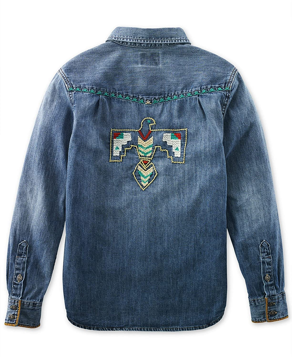 Ralph Lauren Boys Denim Western Long Sleeves Shirt