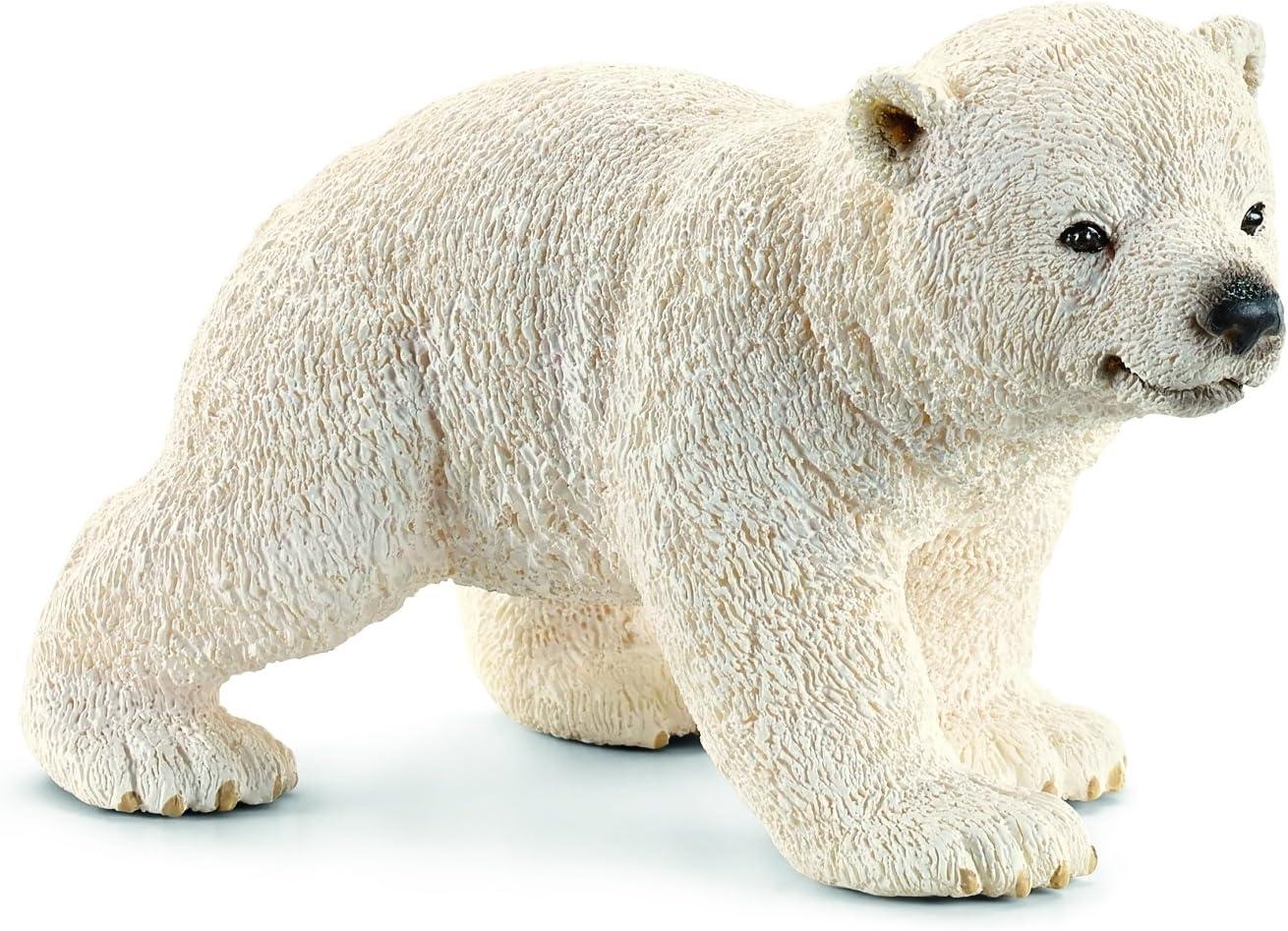 Schleich - Cría de oso polar, corriendo, figura (14708) , color/modelo surtido