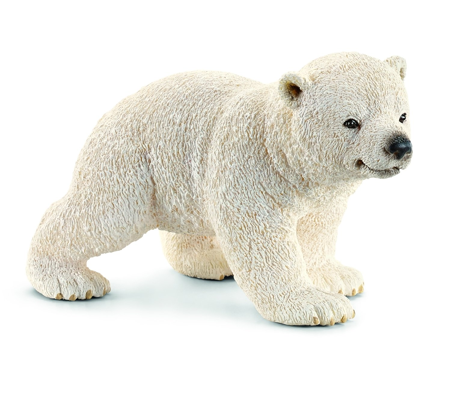 Schleich Walking Polar Bear Cub Toy Figure Schleich North America 14708