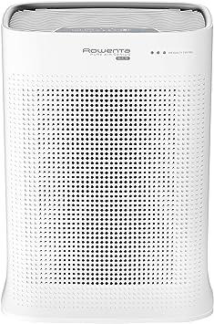 Rowenta Pure Air PU3040 - Purificador, filtración alérgenos y partículas finas, 120 m², modo automático día y noche, temporizador, apagado automático, encendido ...