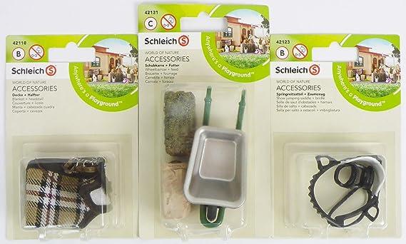 Schleich 42126 Poney Selle et bride figurine accessoires