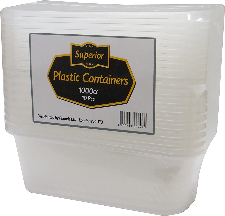 650/ml superior ZRL Plastica microonde Freezer Contenitori e coperchi
