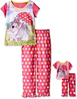 Girls' Pajamas and Nightgowns with Matching 18 Inch Doll Sleepwear, Sizes 4-16