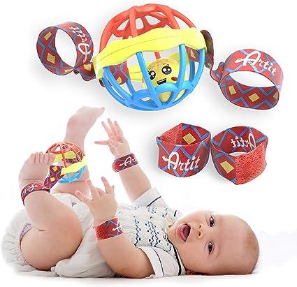 Baby Sensory Wrist Strap Rattle Toy Hand Ankle Bell Kid Child Toys Bracelet GIFT