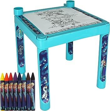 TW24 - Mesa de Pintar Infantil, diseño de Frozen de Disney: Amazon.es: Juguetes y juegos