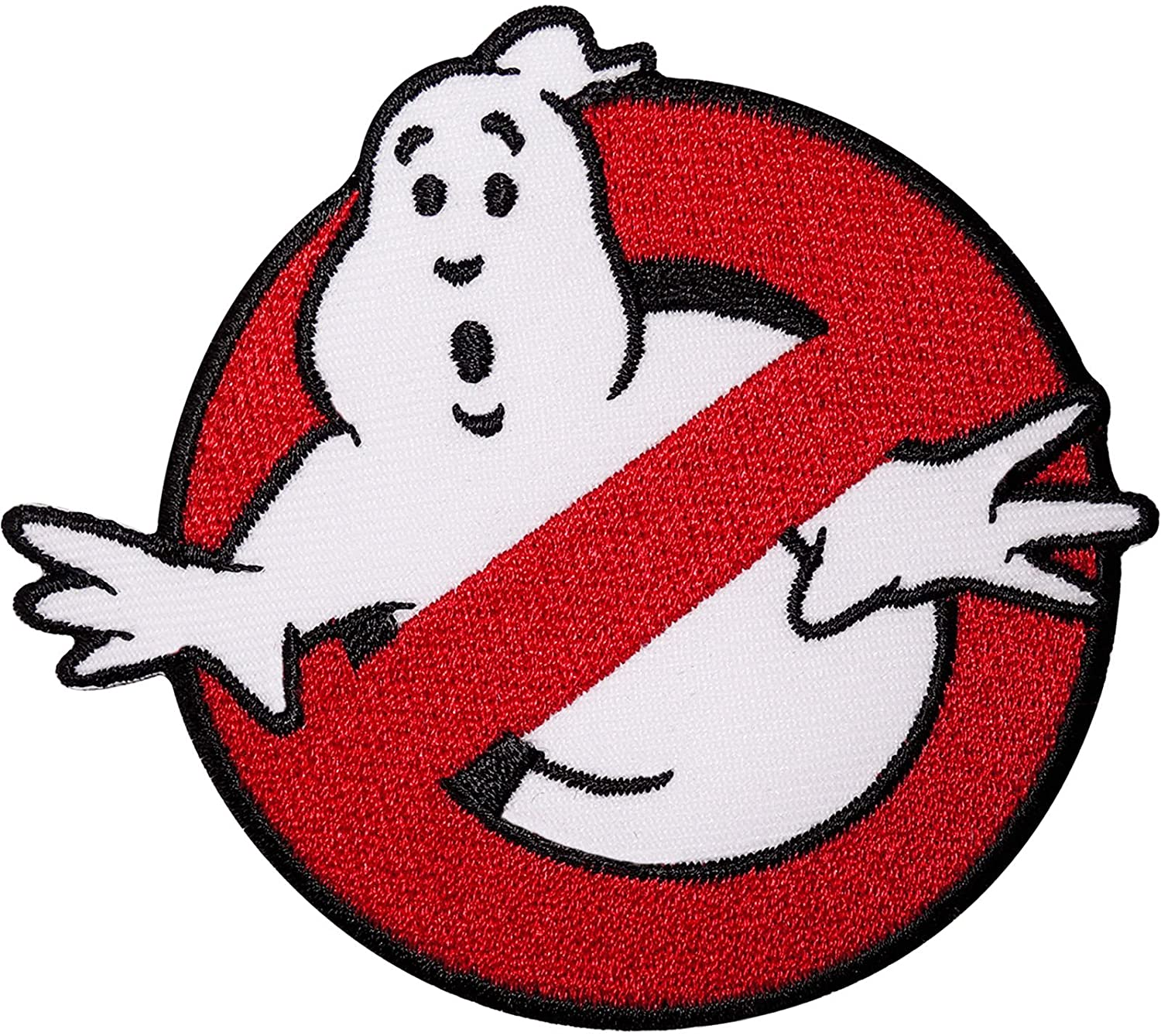 GHOST BUSTERS Logo Iron on Sew-on//Iron-on  EmbroideredPatch