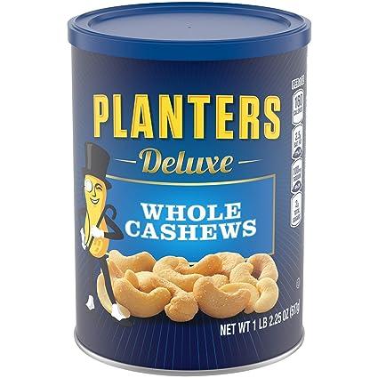 PLANTERS Deluxe Whole Cashews, 18.25 oz