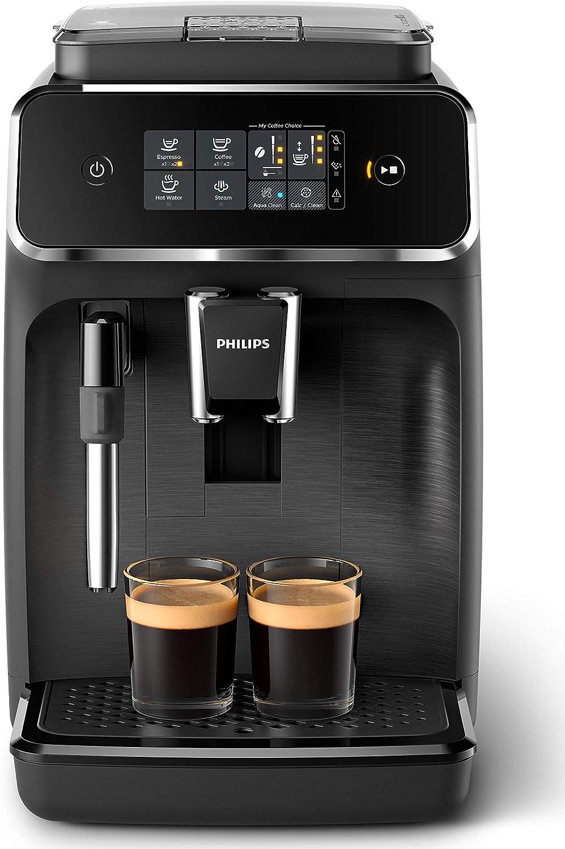 Philips EP2220/10 Cafetera superautomática, Acero Inoxidable, Negro Mate: Amazon.es: Hogar