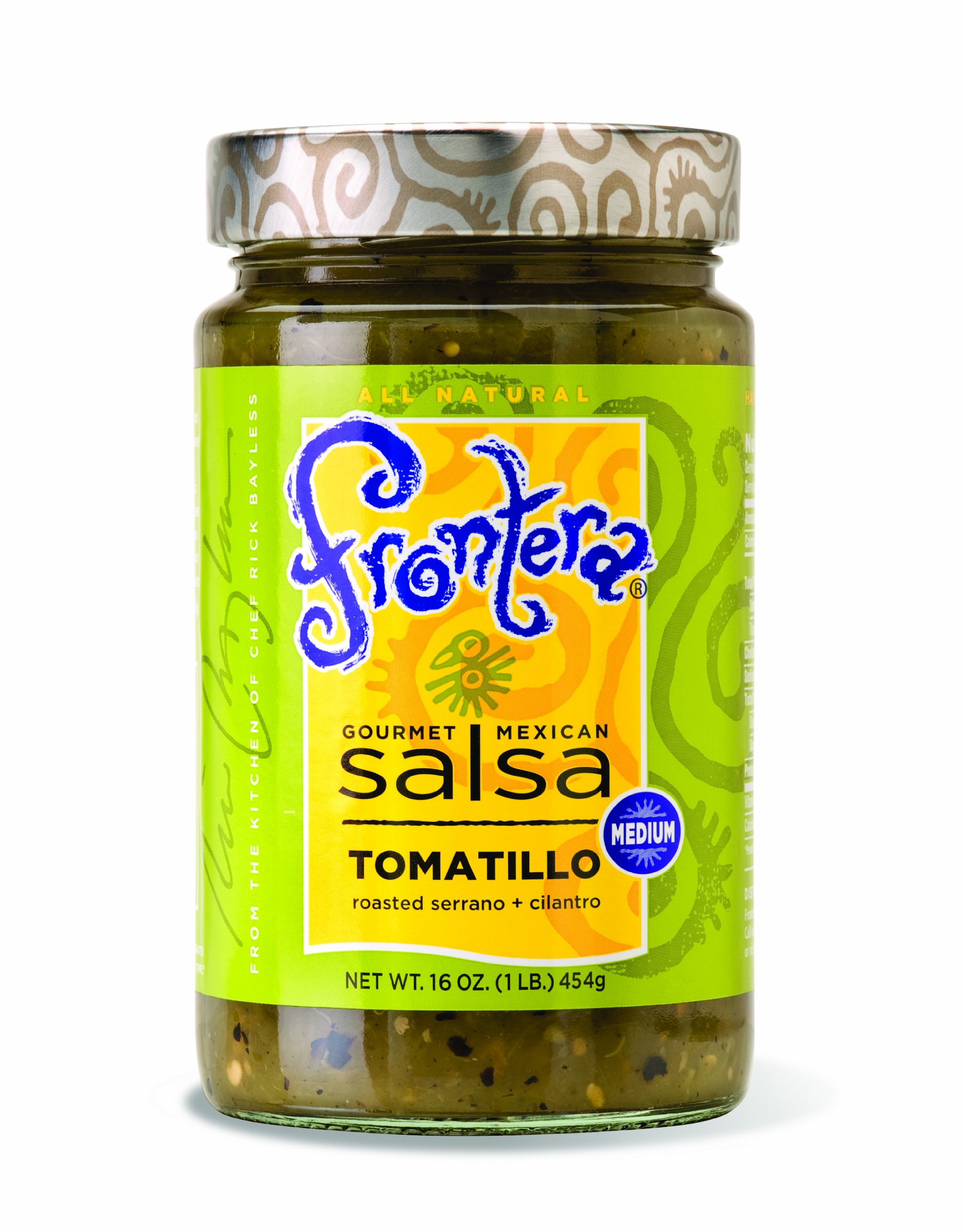 Frontera Tomatillo Salsa, 16-Ounce Units (Pack of 6) by Frontera