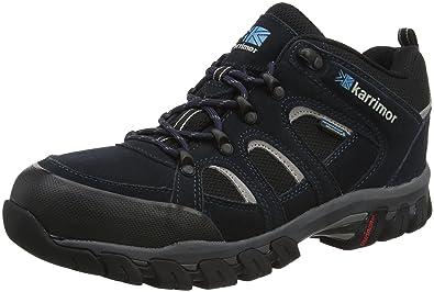 Karrimor Bodmin Low Sport Weathertite, Chaussures de Randonnée Basses Homme, Noir (Black), 41.5 EU