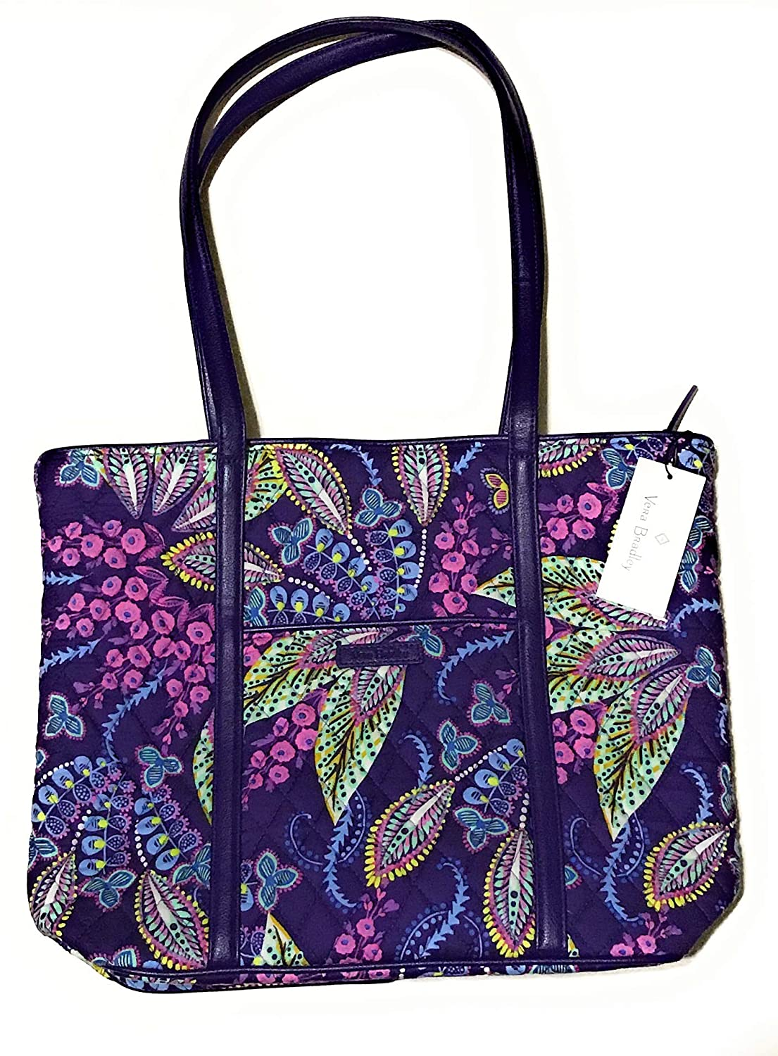 4aec21c5f Amazon.com: Vera Bradley Small Trimmed Vera Batik Leaves: Shoes