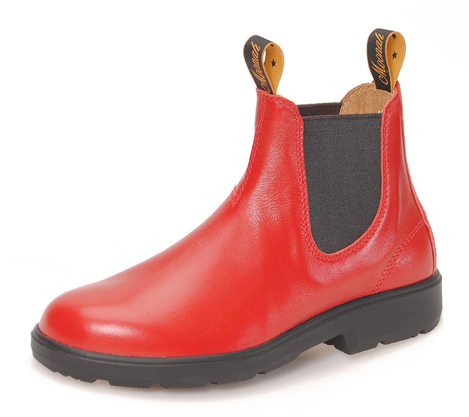 MOONAH Ladies' Town & Country Chelsea Stiefel Light   rot