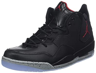 5ce1b7830c2 Nike Men's Jordan Courtside 23 Basketball Shoes, Black/Gym Red/Particle  Grey 023