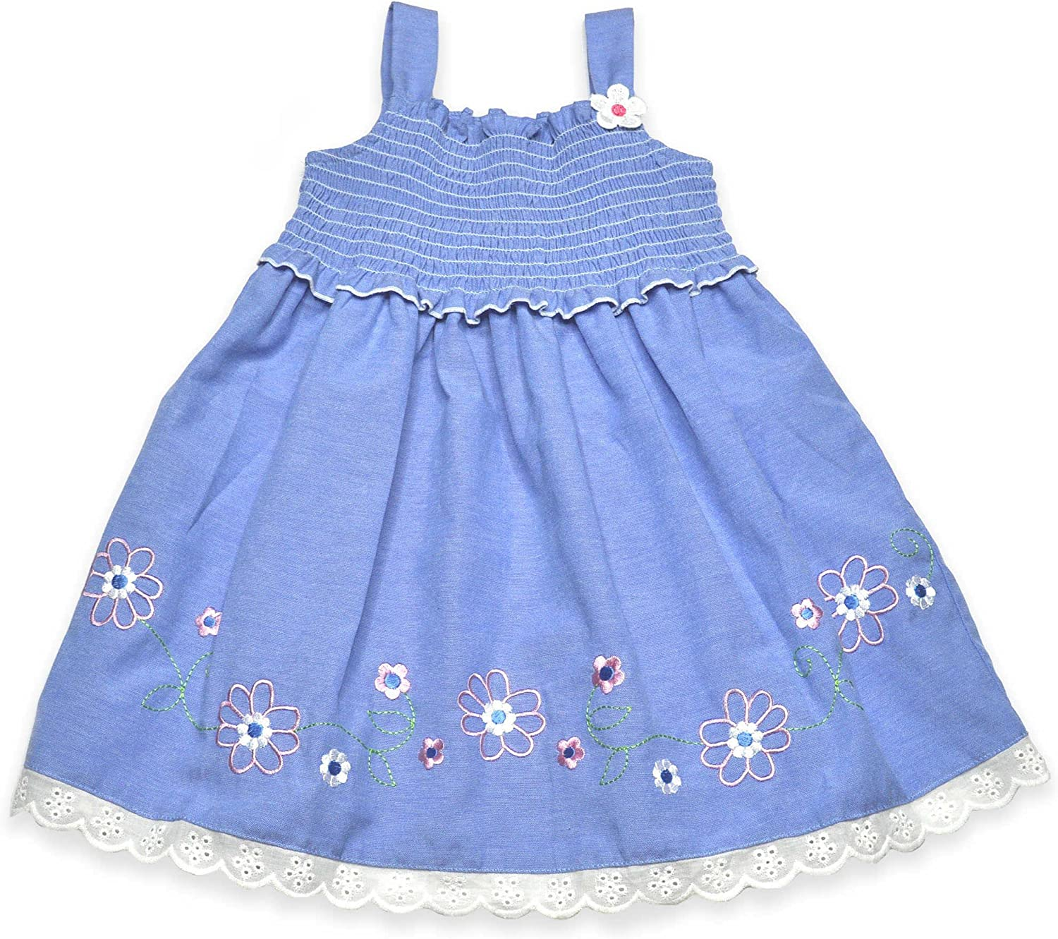 Samara Little Girls Chambray sundress