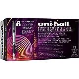 uni-ball 207 Impact Gel Pens, Bold Point (1.0mm), Black, 12 Count
