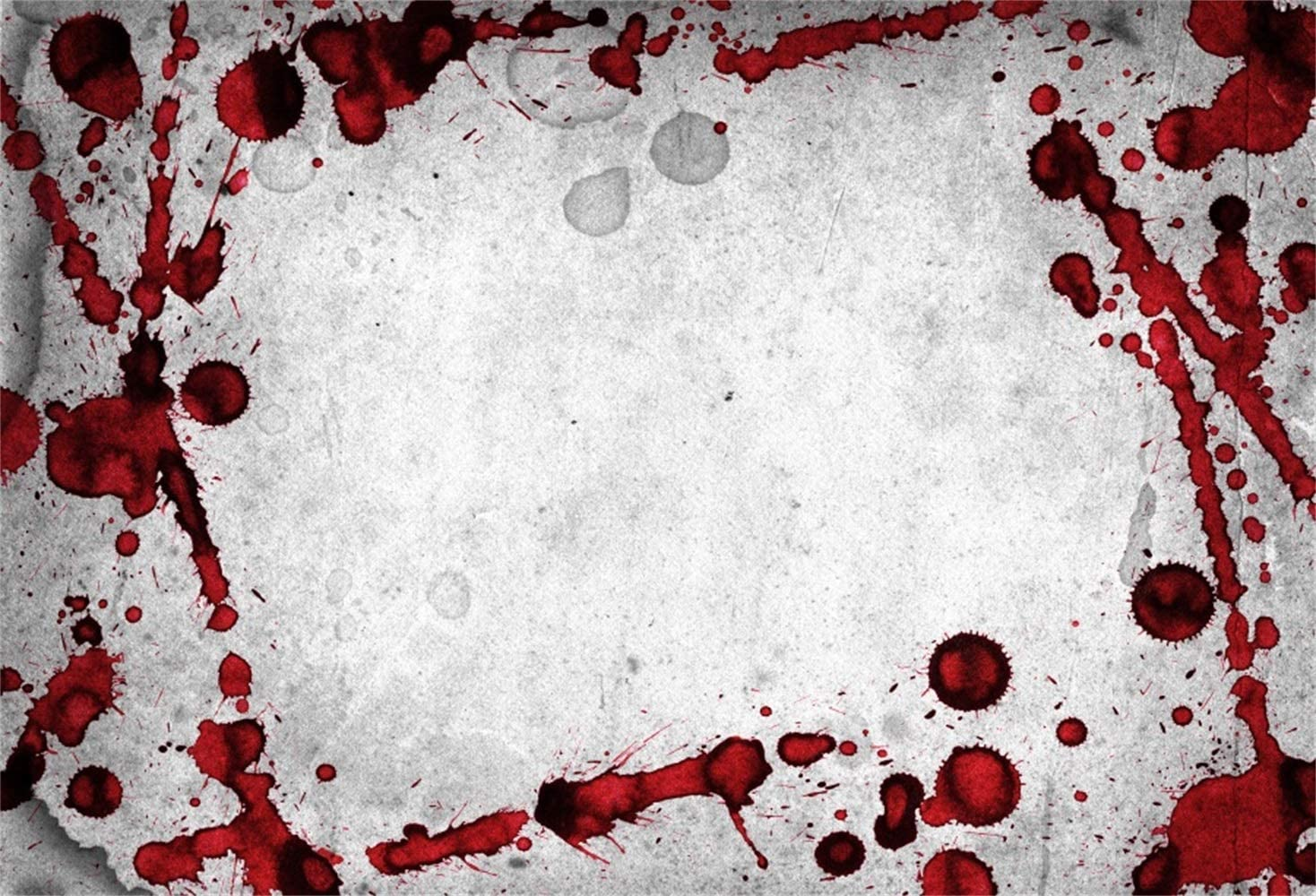 10x7ft Horror Night Halloween Backdrop Vinyl Creepy Blood Drips Splash Frame Faded Lime Wall Photography Backgroud Trick Or Treat Zombie Party Banner Child Baby Portrait Shoot