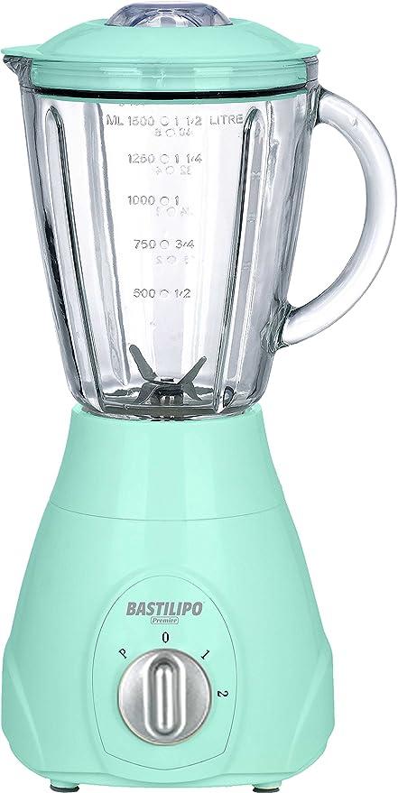 Bastilipo BV-550 Batidora de Vaso, 550 W, 1.5 litros, Plástico,