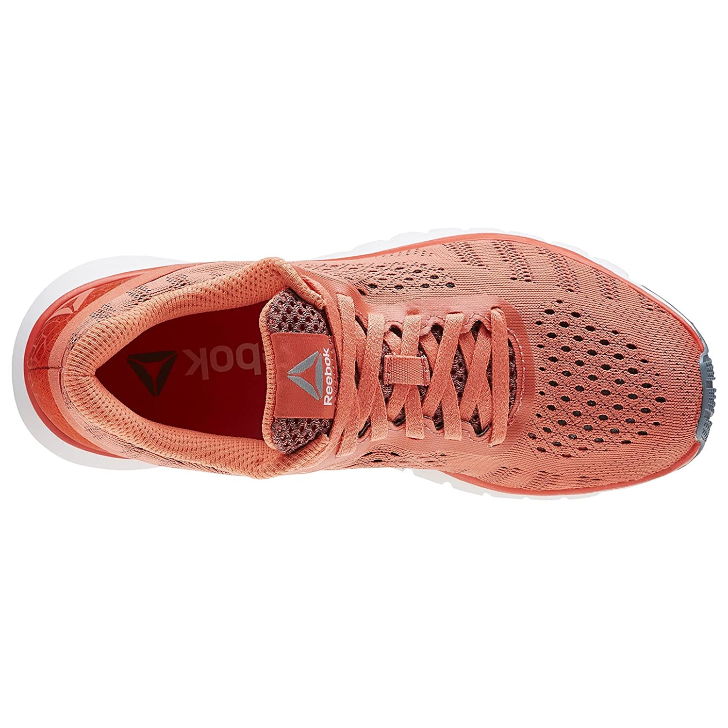 Reebok Print Smooth UltraKnit Womens Running Sport Gym Trainers Fire Coral