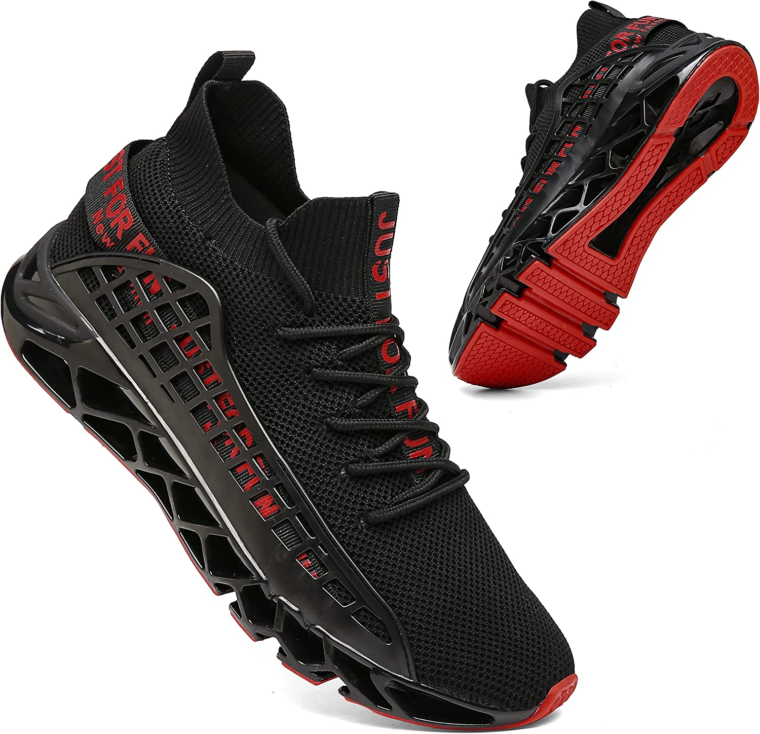 KUXIE Mens Running Shoes Max 80% OFF Brand new Athletic Casual Fashion Walking S