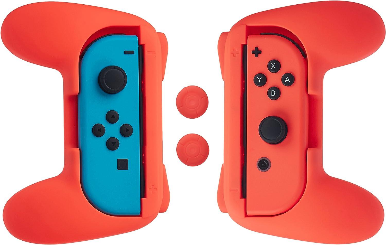 Amazon.com: AmazonBasics Grip Kit for Nintendo Switch Joy-Con ...