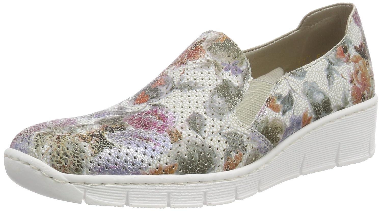 Rieker Antistress Doris White Multi Sneaker B07664NHWS 36 M EU (5.5 M US Women)