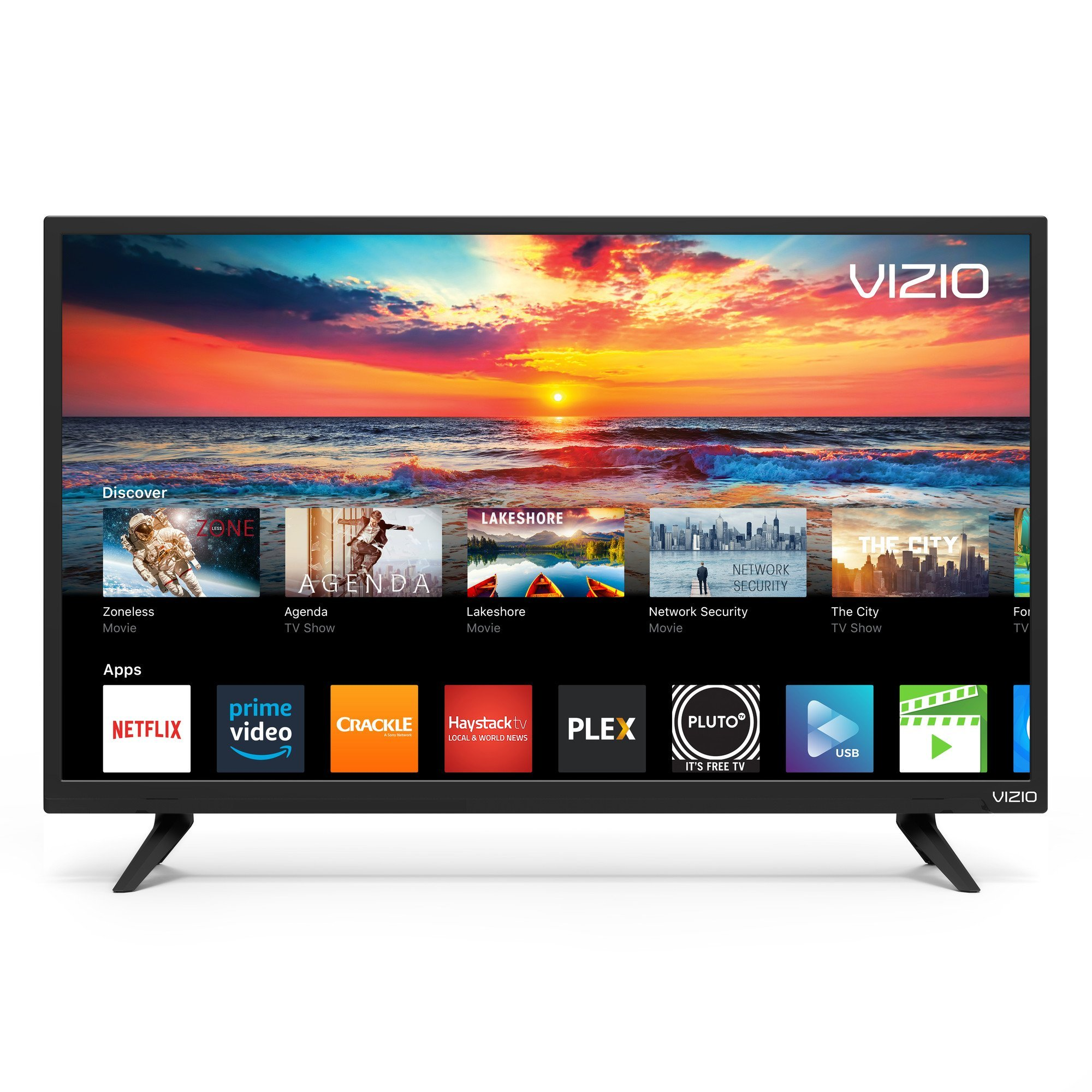 VIZIO SmartCast D-Series 32' Class FHD (1080P) Smart Full-Array LED TV D32f-F1 (Renewed) by VIZIO (Image #2)
