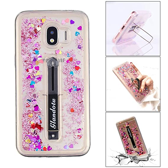 buy online da7b9 c7c9a Amazon.com: Bangcool Samsung Galaxy J4 2018 Case Phone Cover ...