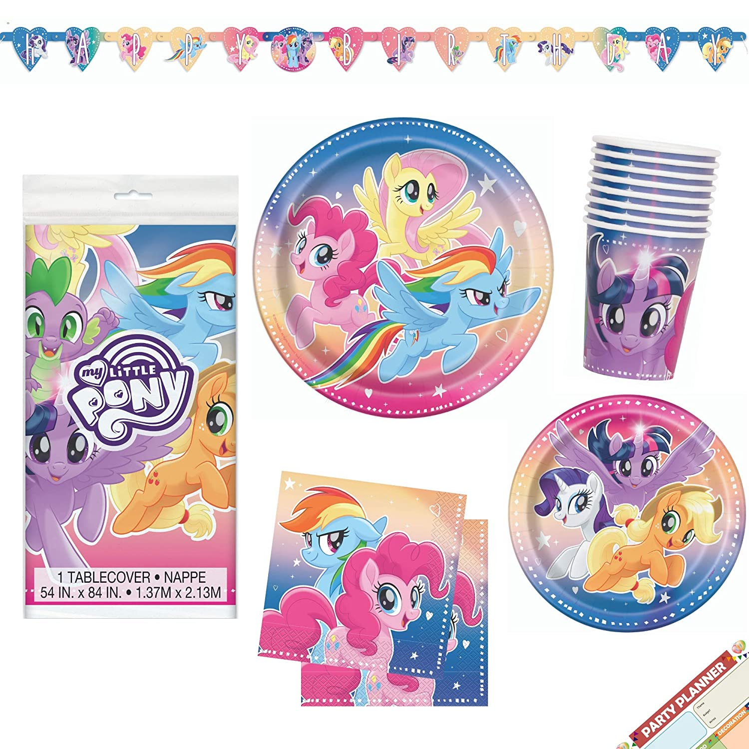 24 PONY PONIES HORSE Temporary Tattoos Girls Birthday Party Loot Bag Fillers