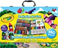 Crayola Crayola Inspiration Art Case; 140 Art Supplies, Crayons, Colored Pencils, Washable markers, Paper, Portable Case, gifts for kids and adults, Easter Gifts for Kids, Easter Toys