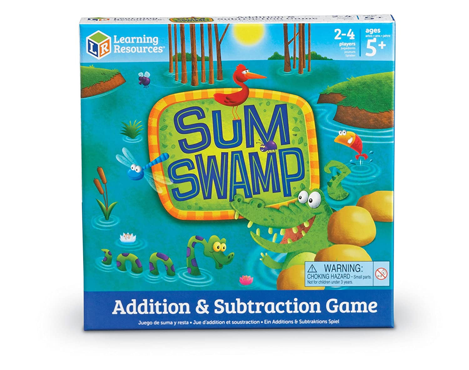 Learning Resources Sum Swamp Addition and Subtraction Game LER5052
