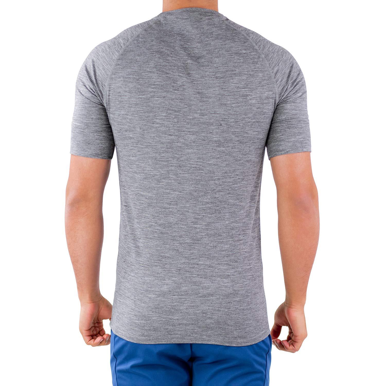Quick Dry Short Sleeve Running Fitness Performance T-Shirt /… Hydrafit Contour Athletics Mens