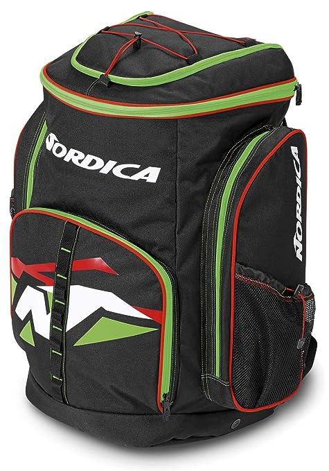 Nordica Unisex 0 N301200 de A43 Mochila Race XL Gear Pack BLACK/GREEN/WHITE