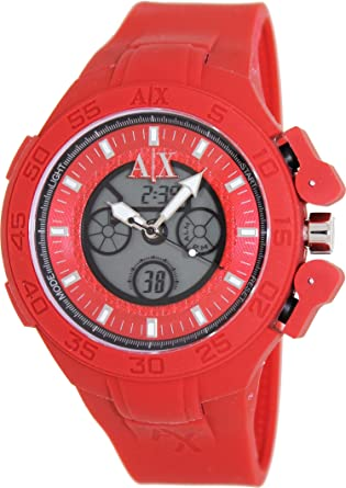Armani Exchange Red Active Analog Digital Mens Watch AX1281