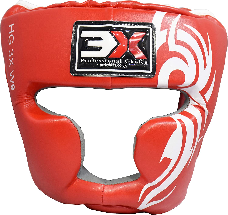 Certifi/é CE 3X Professional Choice Casque De Boxe MMA Grille Protection Garde de T/ête Muay Thai Kickboxing Arts Martiaux Krav Maga Entra/înement Garcons Filles