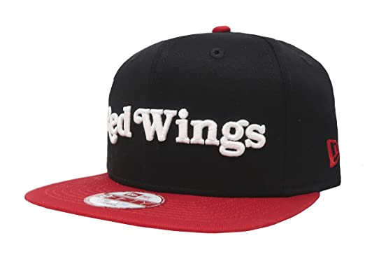 brand new b4578 f5bb3 ... discount code for new era mens detroit red wings flip up cap snapback  black red 9c541