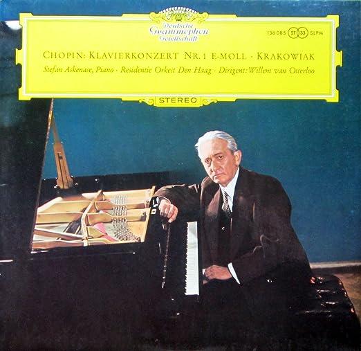 Chopin: Klavierkonzert Nr. 1 e-moll / Krakowiak: Grosses Konzert-Rondo F-dur op. 14 [Vinyl LP] [Schallplatte]