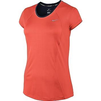 Nike Racer - Camiseta de mujer con manga corta: Amazon.es: Zapatos y complementos
