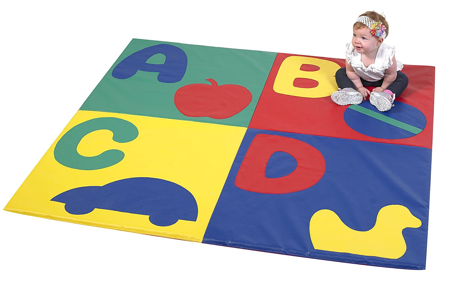 Image of Baby Children's Factory ABC Crawly Mat - Primary Classroom Furniture - CF362-121