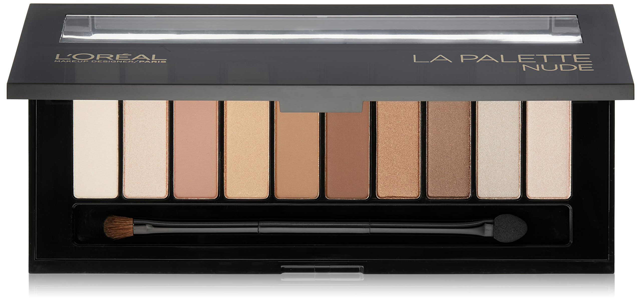 L'Oréal Paris Makeup Colour Riche Eye 'La Palette Nude' Eye Shadow Palette with Brush, 111 Nude, 0.62 oz.