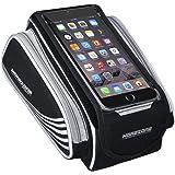 MOREZONE 自転車 スマホホルダー タッチバッグ スマートフォンアクセサリー サイクリング大容量収納フレームバッグ 6.0インチ iphone 7 plus对応