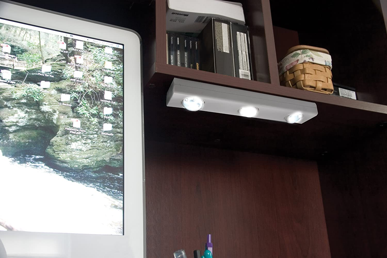 Rite Lite LPL700WRC Wireless LED Under Cabinet Light with Remote ...