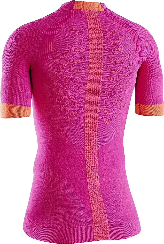 X-Bionic The Trick 4.0 Run Shirt Short Sleeve Women Strato Base Camicia Funzionale Donna
