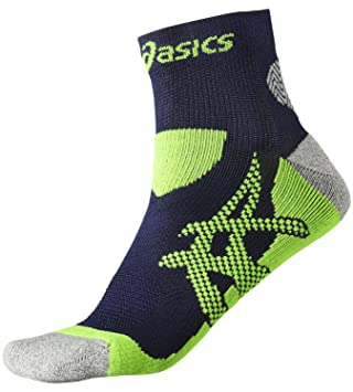 e4719a458604 Asics asiscs Kayano Sock Running Socks Black and Yellow Size 35-38 ...