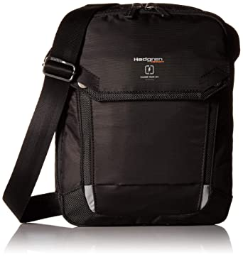"eac5a057a Hedgren Contact Crossbody Bag, 7"" Tablet Pocket, RFID Blocking, Mens,  Black"